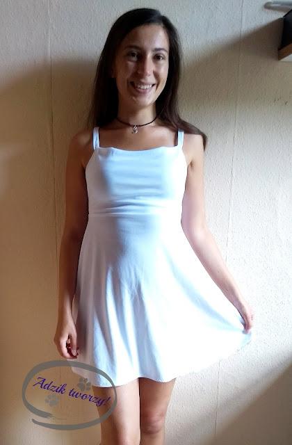 sukienka jak uszyć krok po kroku
