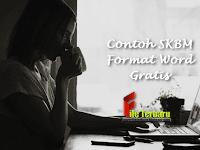Contoh SKBM Format Word Gratis