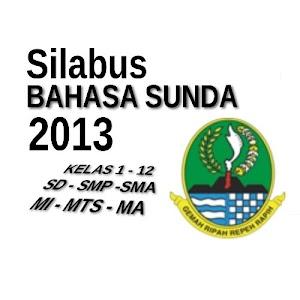 Silabus Bahasa dan Sastra Sunda 2013 Jenjang SMA SMK