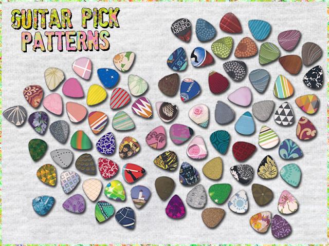 Guitar Pick Patterns