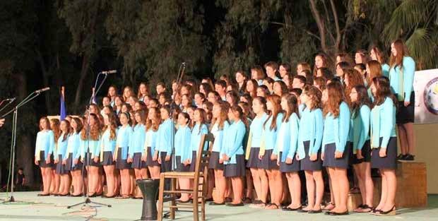 Αποτέλεσμα εικόνας για χορωδία αρμονία πρέβεζασ