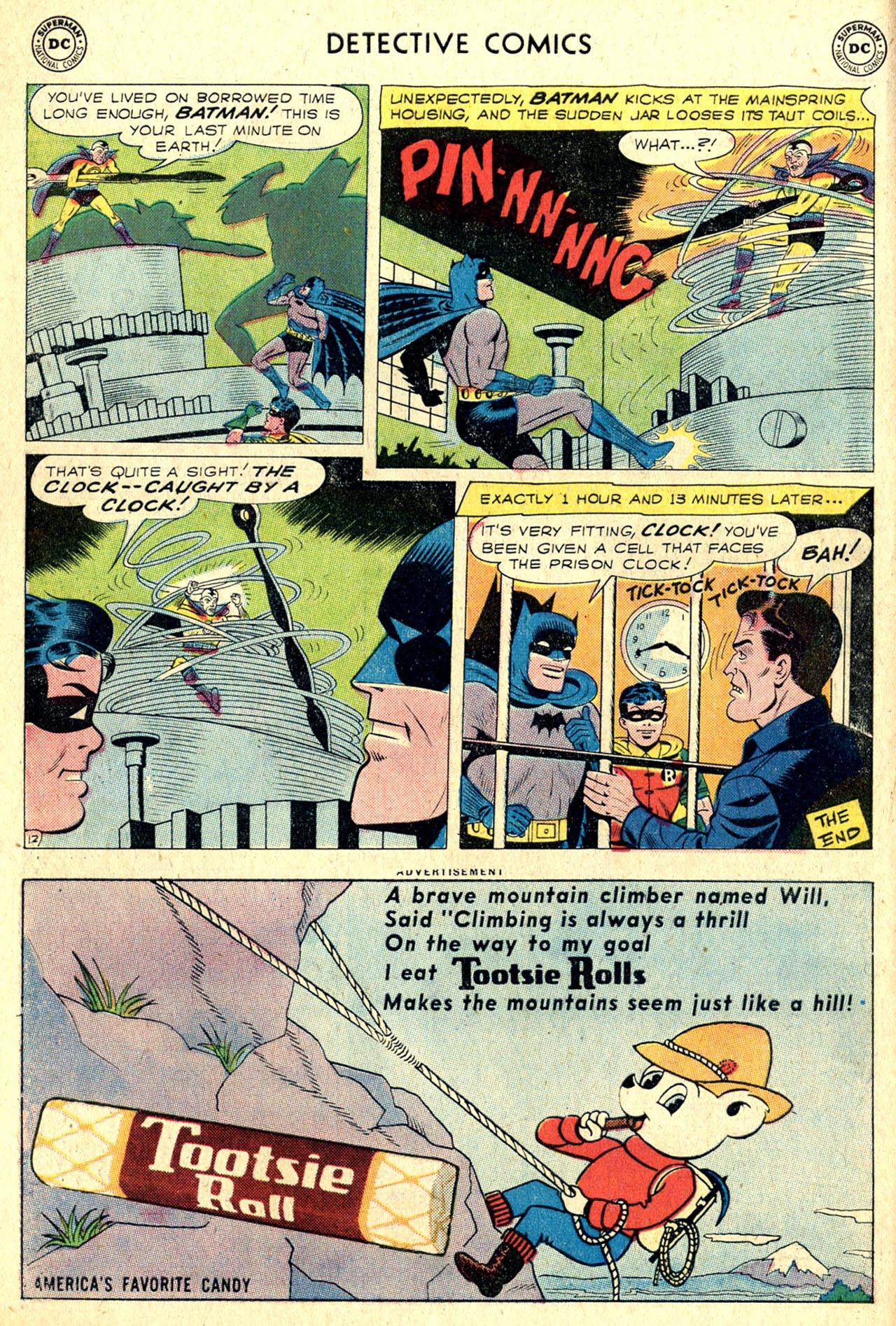 Read online Detective Comics (1937) comic -  Issue #265 - 14