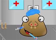 Pou Got Flu juego