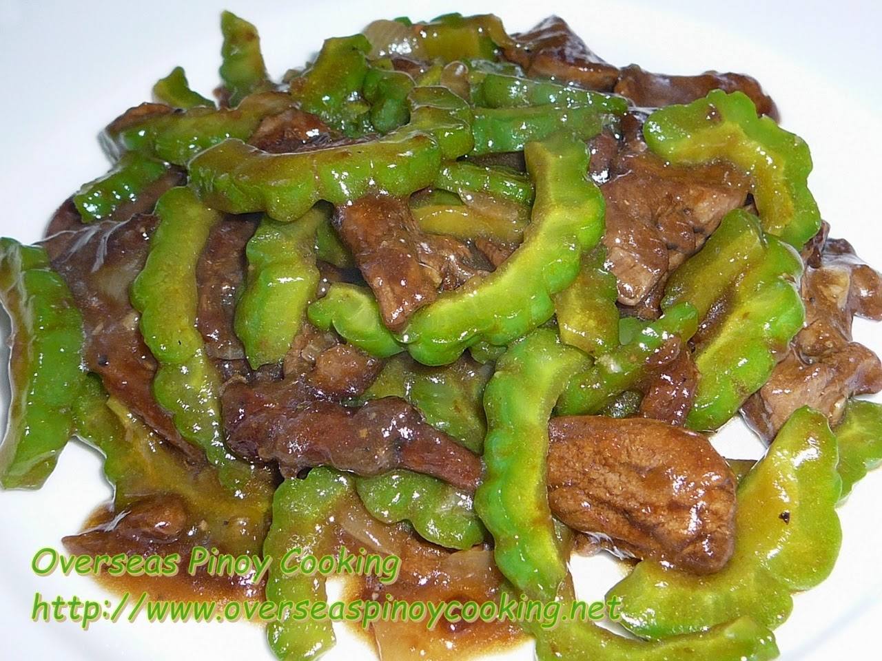 Pork and Ampalaya Stirfry