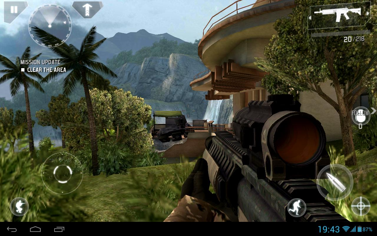 modern combat 4 zero hour mod apk pc and modded android
