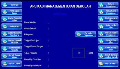 Aplikasi Manajeman Ujian Sekolah 2016 Gratis