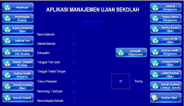 Membuat Administrasi Ujian Sekolah dengan Aplikasi Mudah dan Lengkap Tanpa Password