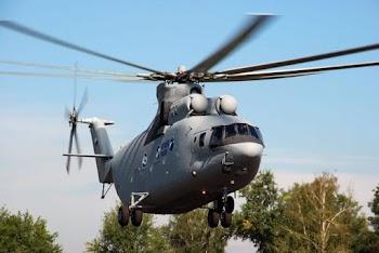 Αναβαθμισμένο το θηριώδες ελικόπτερο Mil Mi-26T2