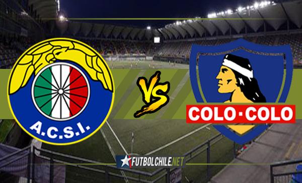 Audax Italiano vs Colo Colo