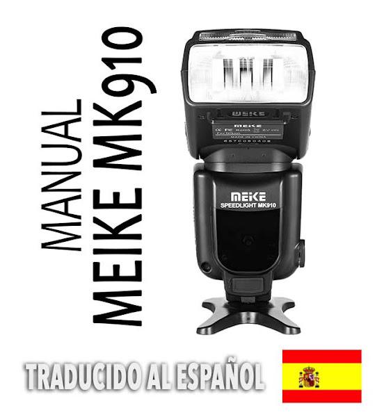 Manual Meike MK910 - ESPAÑOL