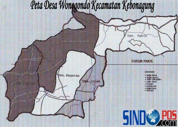 Profil Desa & Kelurahan, Desa Wonogondo Kecamatan Kebonagung Kabupaten Pacitan