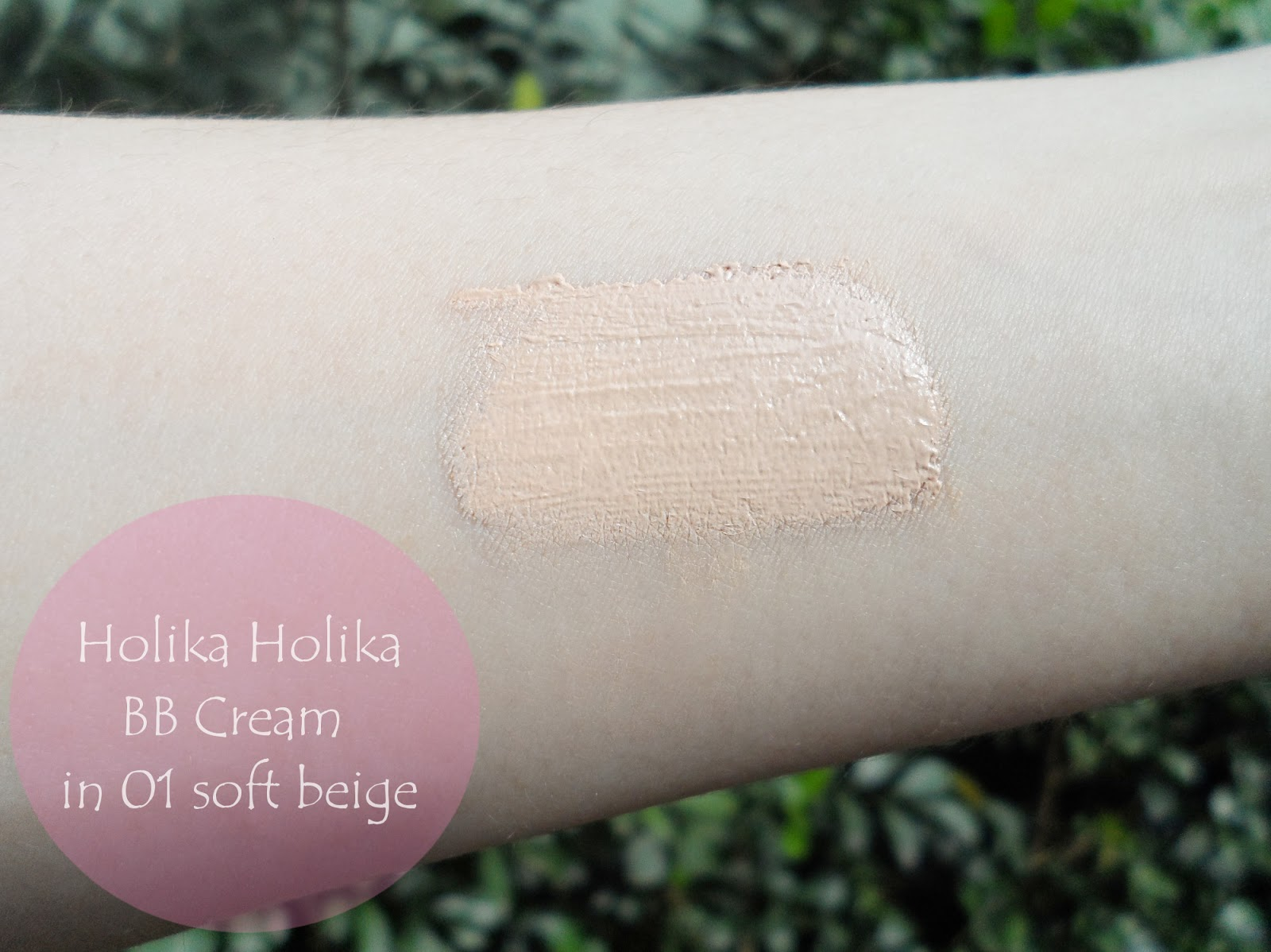 bb cream holika holika review blogger swatches liz breygel january girl korean makeup w2beauty store