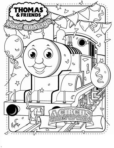 FUN & LEARN : Free worksheets for kid: Thomas & Friends