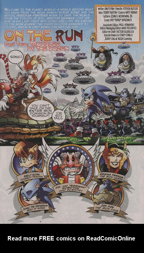 Read online Sonic The Hedgehog comic -  Issue #206 - 2