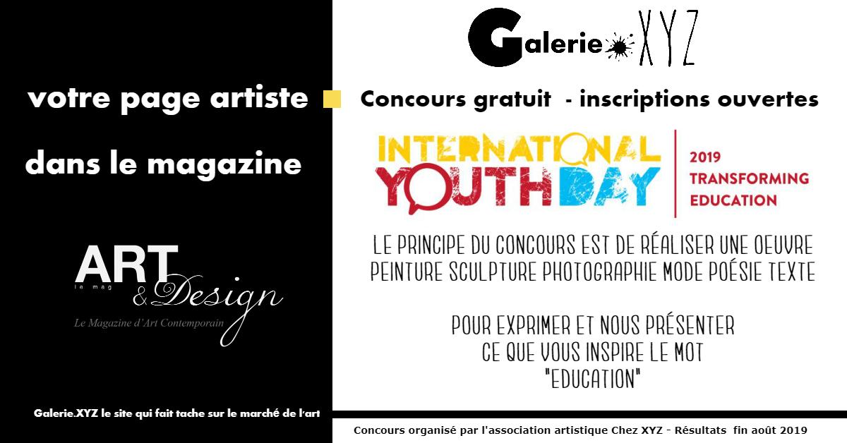 concours gratuit pour artistes