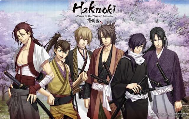 Hakuoki -Demon of the Fleeting Blossom- - Top Best War Anime List (From Medieval, Modern to Future War)