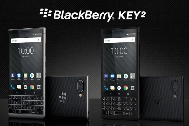 BlackBerry KEY2 Is Now Official: Long Live The Physical Keyboard