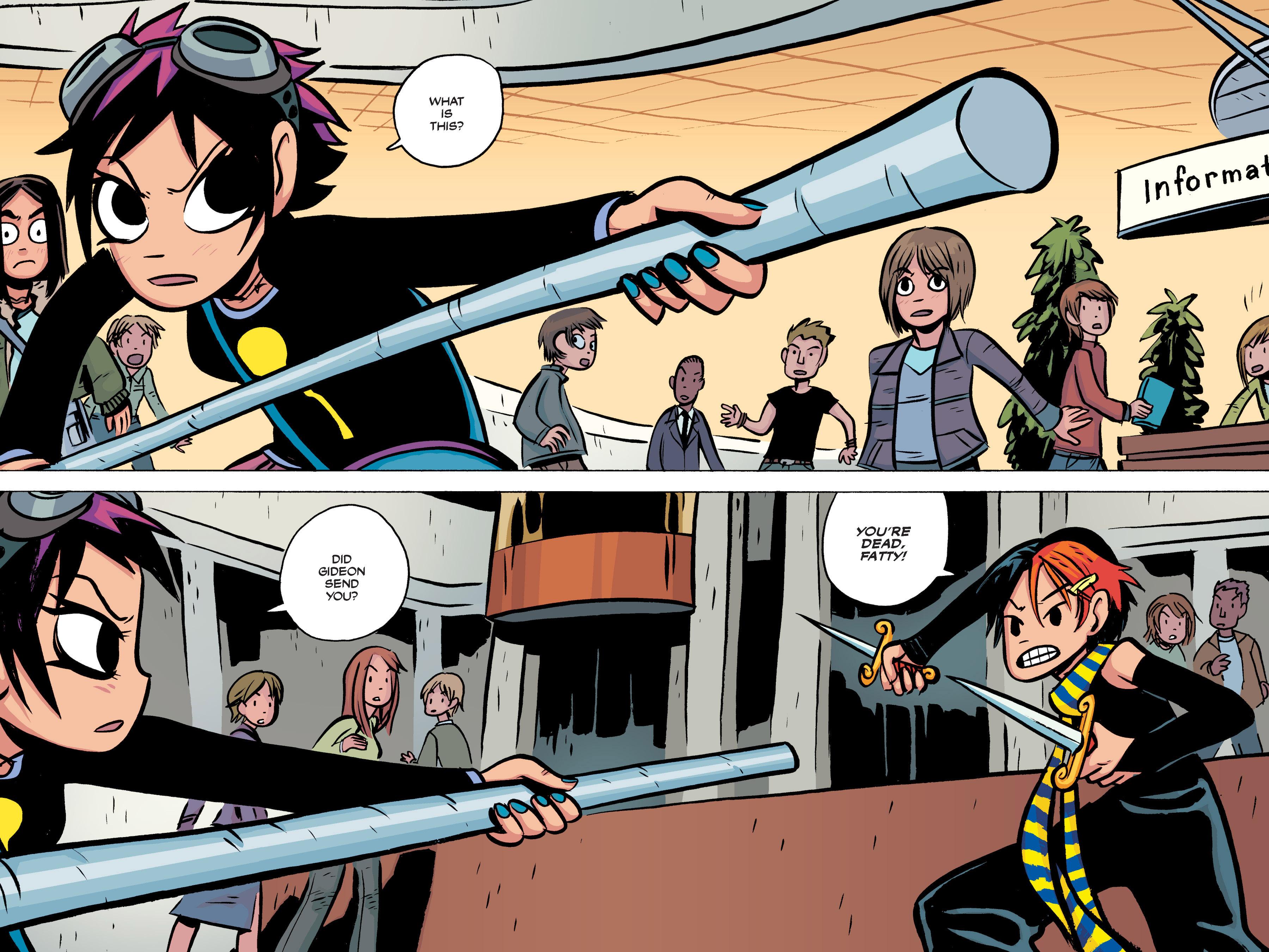 Read online Scott Pilgrim comic -  Issue #2 - 134