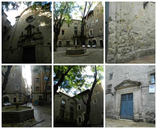 Praças para curtir Barcelona - Plaça de Sant Felipe Neri