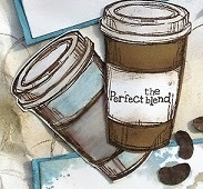 coffee and friends the perfect blend zena kennedy independent stampin up demonstrator