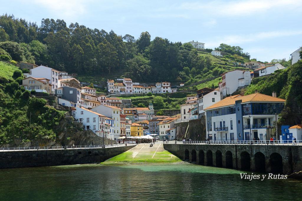 Vista general de Cudillero, Asturias