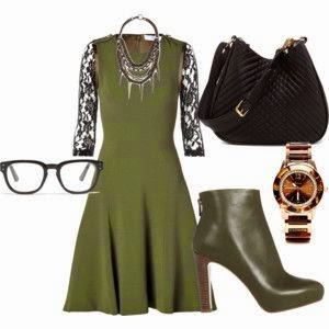 Outfit verde militar