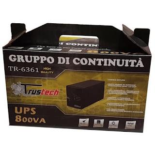 UPS TRUSTECH 800VA