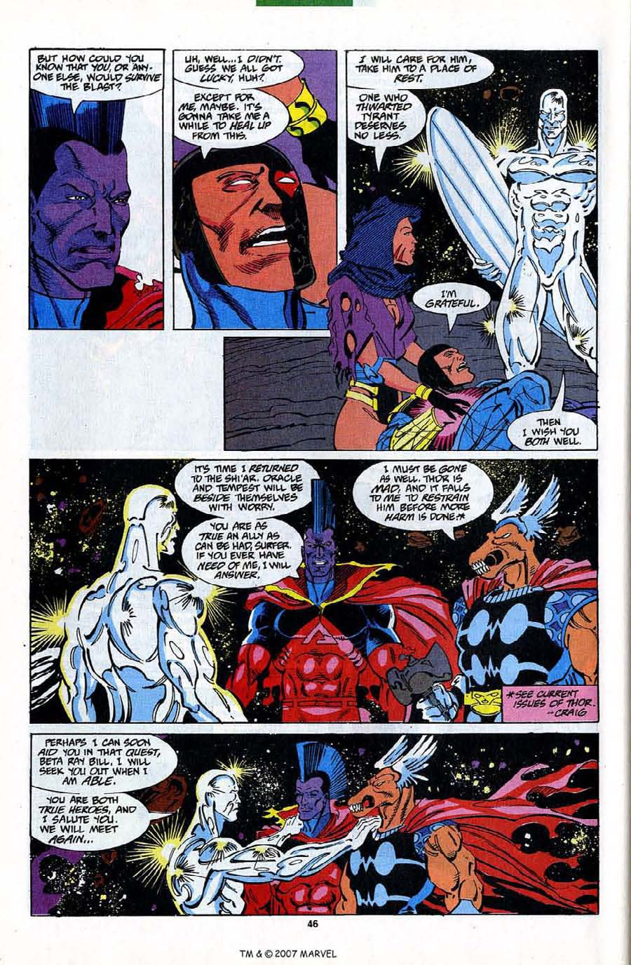 Read online Silver Surfer (1987) comic -  Issue #82 - 48