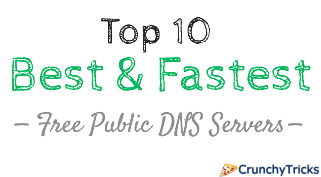 Top 10 Best & Fastest Free Public DNS Servers