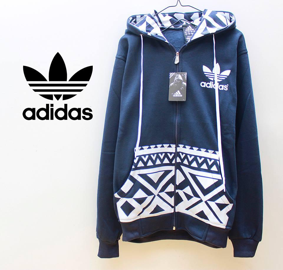 DIDISTRO: Jaket & Sweater Fleece Hoodie - Adidas ADS008