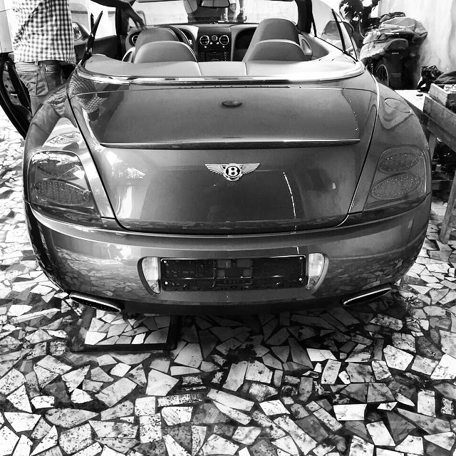 wizkid 2015 Bentley car