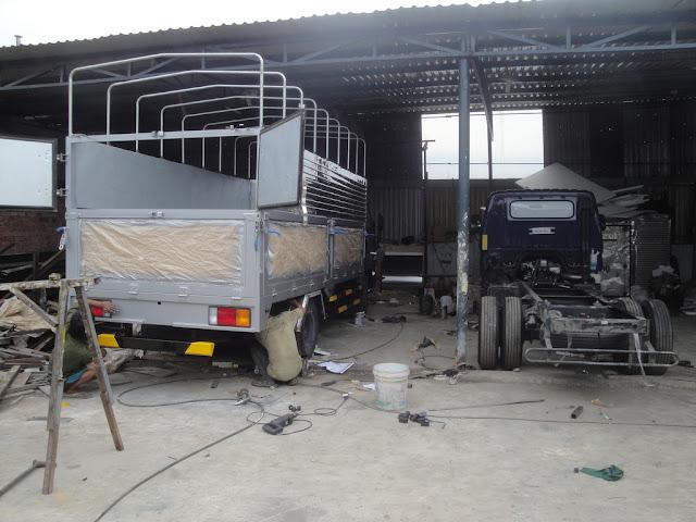 Xưởng chuyên đóng thùng xe tải