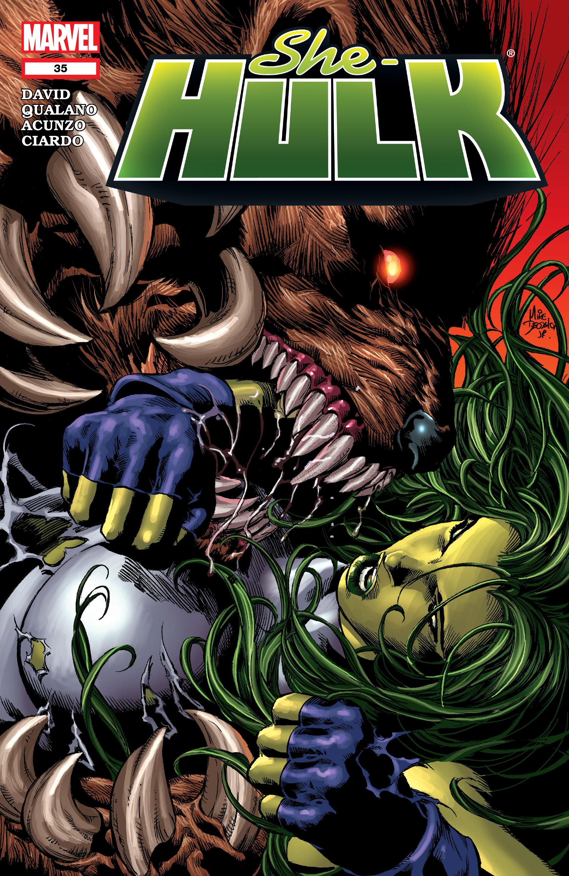 Read online She-Hulk (2005) comic -  Issue #35 - 1
