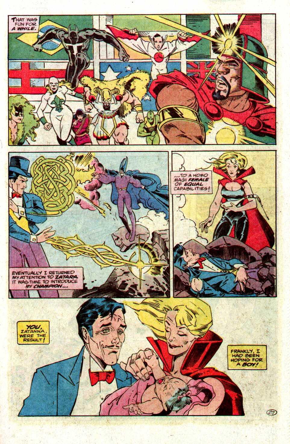 Read online Secret Origins (1986) comic -  Issue #27 - 28