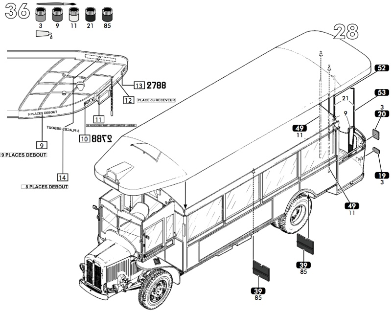 Scale Model News: 1:24 SCALE RENAULT TN6 AUTOBUS KIT FROM