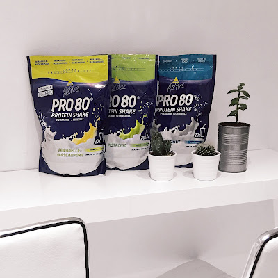 Inko Active Pro 80 Protein Shake, Whey Eiweiß, Leckerer Proteinshake, Bestes Proteinpulver