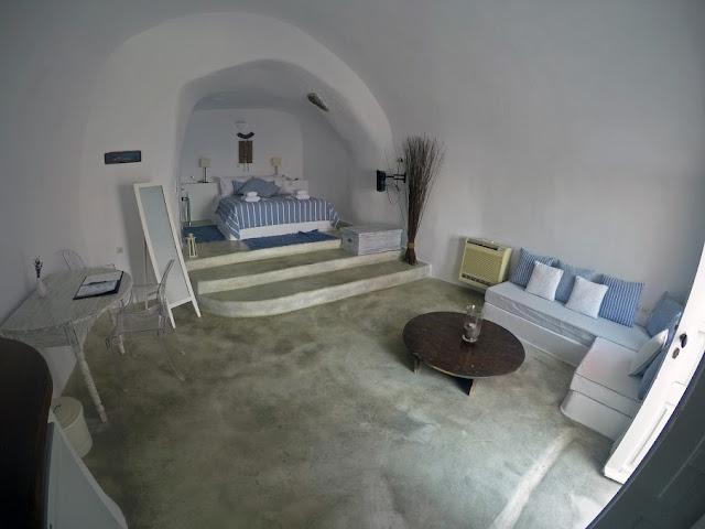 Nostos Apartments Cave Hotel Oia Santorini