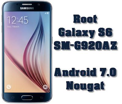 Root Galaxy S6 SM-G920AZ