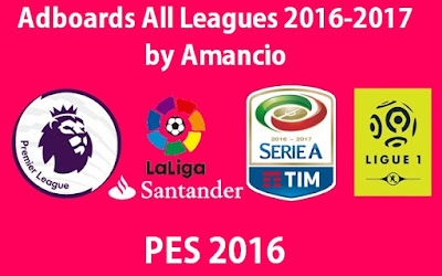 Adboards All-Leagues 2016-2017 by Amancio
