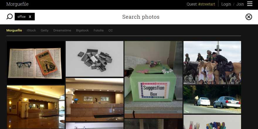 Morguefile - Banco de imágenes gratuitas