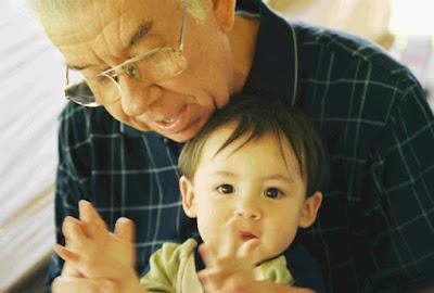 kakek yang bijak, nasehat kakek, kakek dan cucu, cucu yang pemarah,