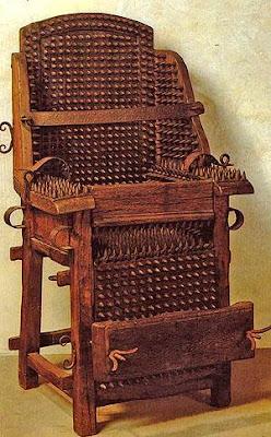 Cadeira da inquisição