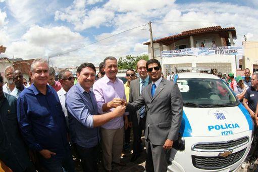 Vinte novas viaturas reforçam segurança em 10 municípios do interior da Bahia