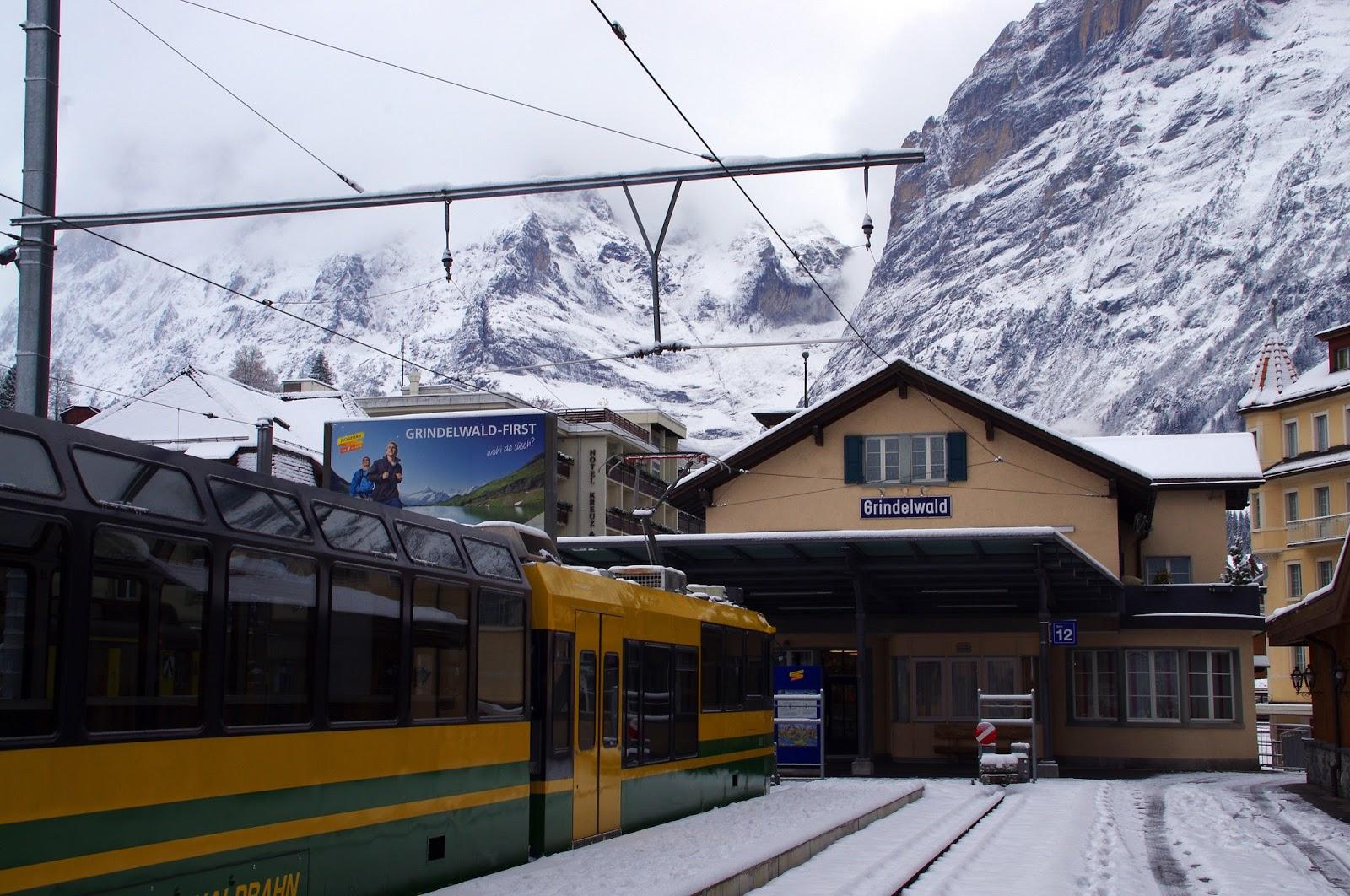 Grindelwald Train Station