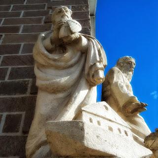 Imagem de Noé, na Igreja Matriz de São Joaquim