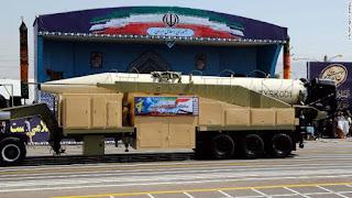 إيران تختبر صاروخ خورامشهر الباليستي الجديد يمكنه ضرب اسرائيل