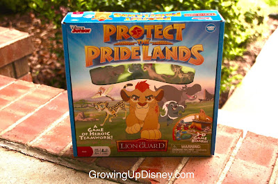 Growing Up Disney, The Lion Guard, game box
