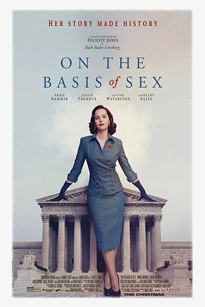 On the Basis of Sex (2018) 450MB Full English Movie Download 480p Bluray Free Watch Online Full Movie Download Worldfree4u 9xmovies