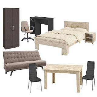 studios, student furniture, youth apartment, studio, decorating ideas, economic furniture, sofa bed, cabinets, desk, bedside table, mattress, table, library,
