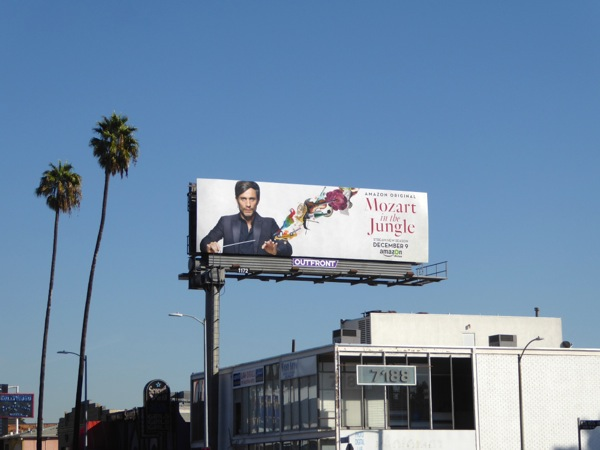 Mozart in Jungle season 3 billboard
